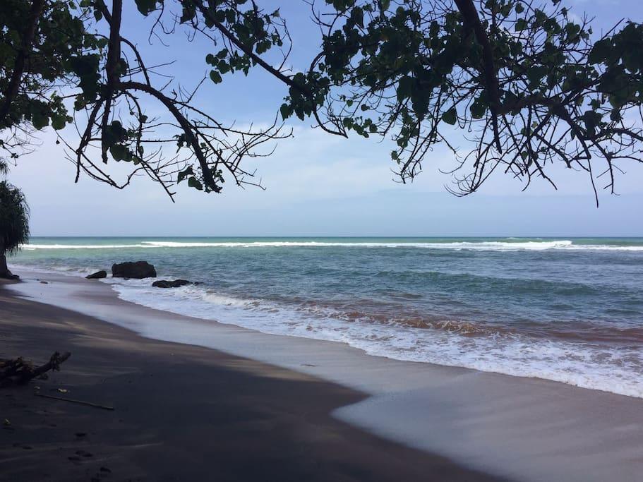 Jungle Beach. 3 minutes walking disrance