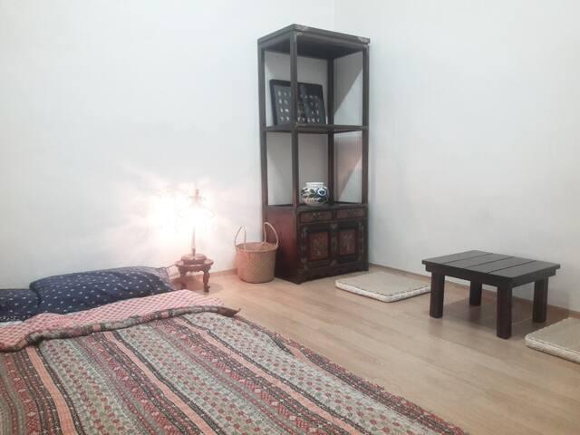 아늑하고 편안한 ChuShin's HOUSE 개인실2 *편리한주차, 여행&출장적합