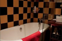 the bathroom, shared with the other room available also on airbnb