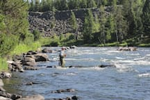 You'll be surrounded by beautiful rivers, lakes, and streams, perfect for fishing, swimming, rafting, and more.