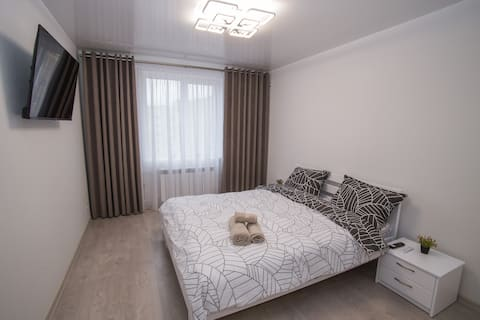 Bilios Apartment - Новые белоснежные апартаменты