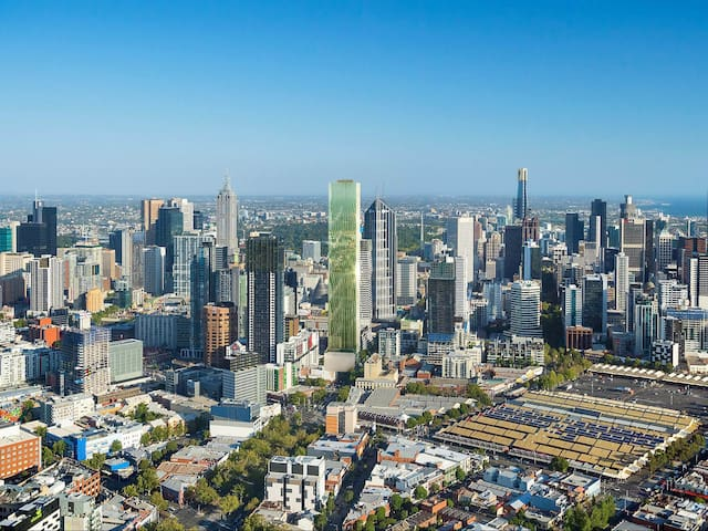Live in central Melbourne area with stunning view on this magnificent high-rise building
