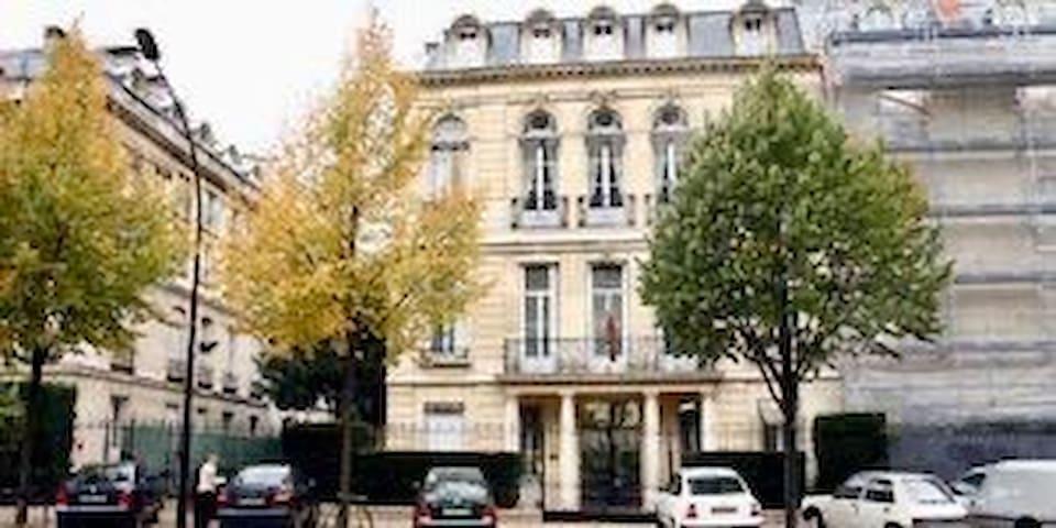 Petit studio Paris 16eme