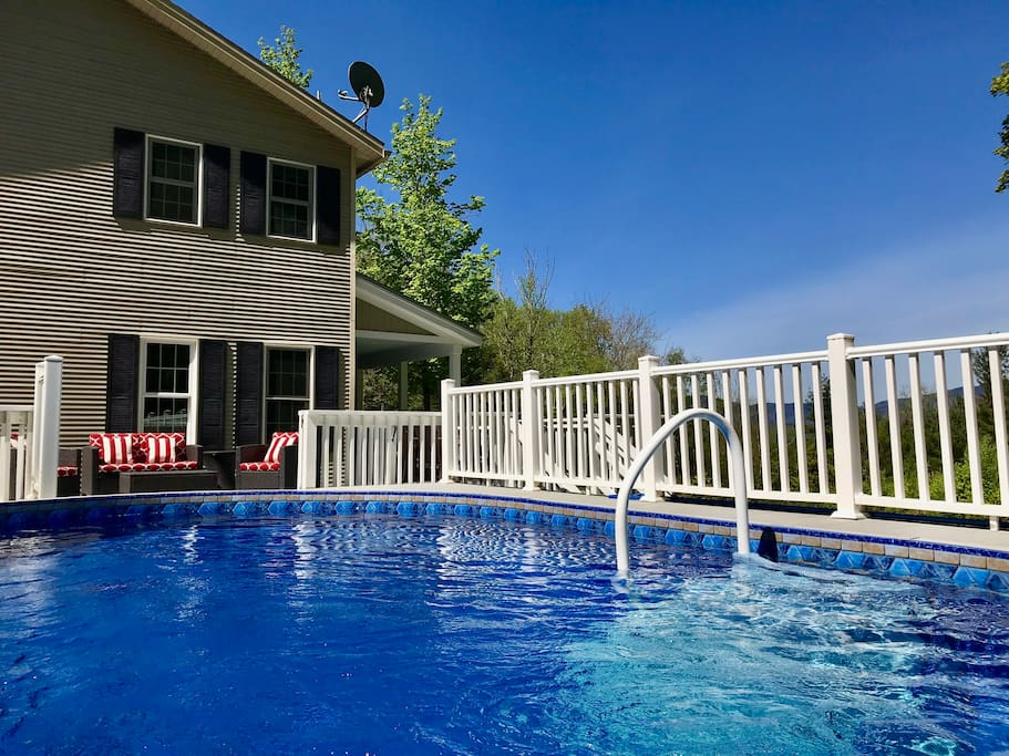 You'll love the heated pool in the warmer months!