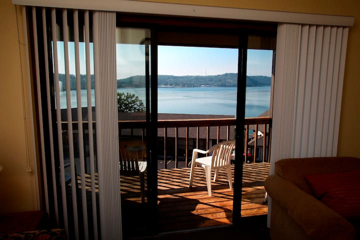 A Lakeview Condo with views of Table Rock Lake.