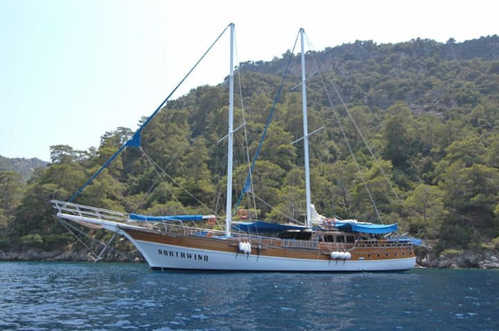 Rhodes Yacht Cabin Charter All Inclusive