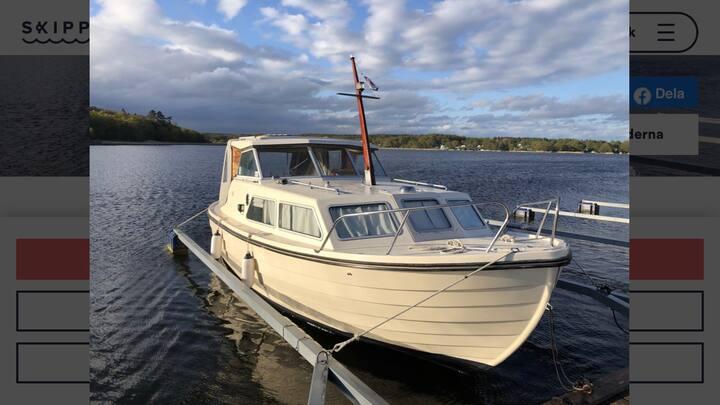 Boat in wonderful Karlskrona for rent.