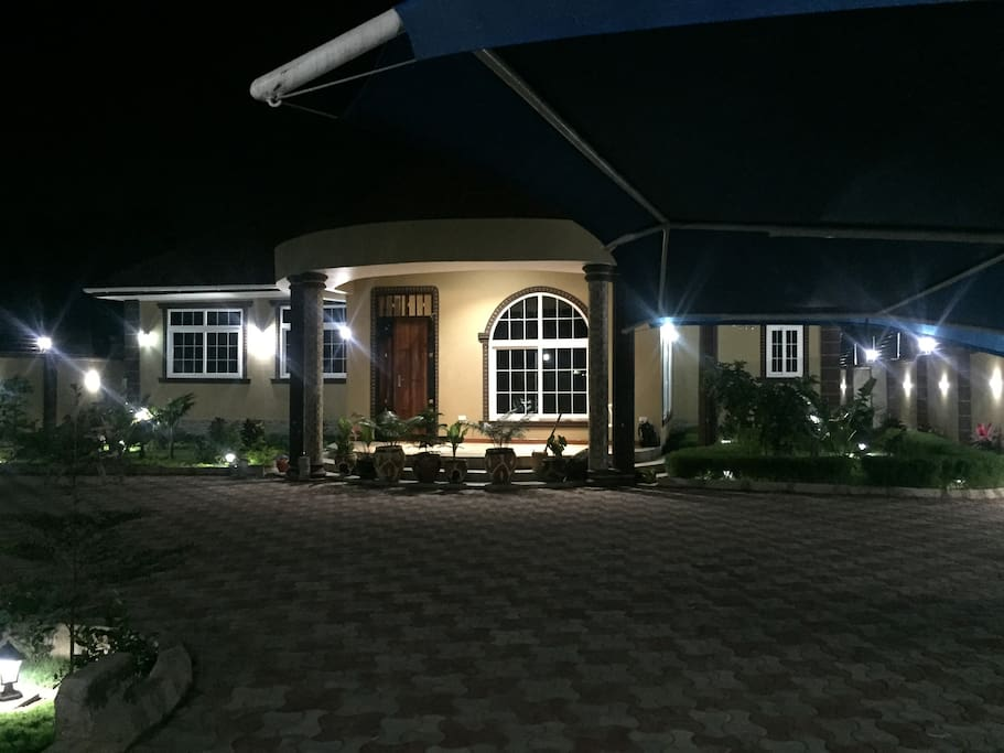 Front View By Night