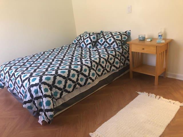 Private bedroom/bath designed for work & pleasure