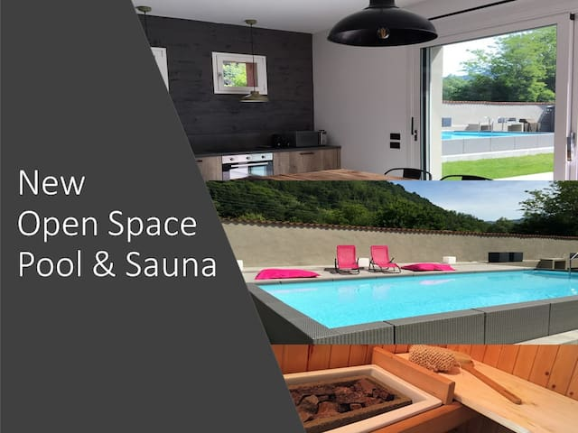 NEW Open space - Pool & Sauna
