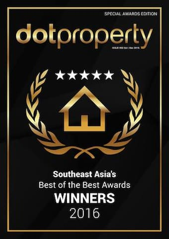 SanSiri winner of many property awards .