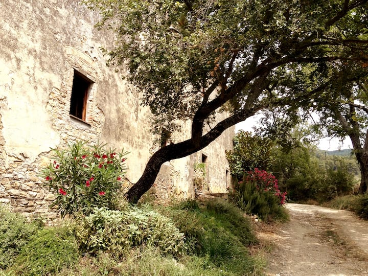 San Federigo, ein altes Bauernhaus in der Toskana