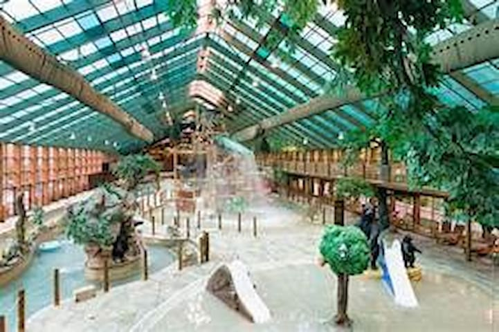 Indoor water park year round