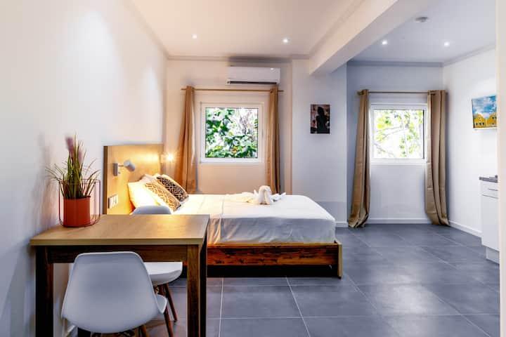 🏨🏝💎Bright Private Room Near Gym &Massage Center