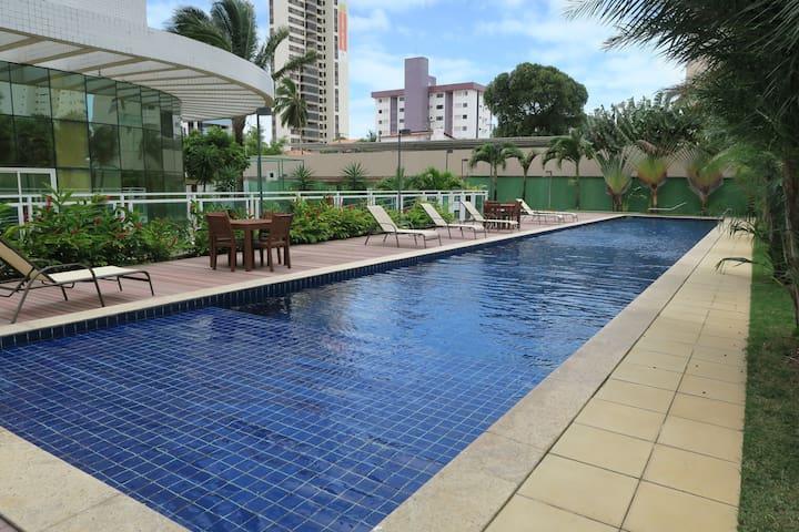 Apartamento confortável próx  praia de Ponta Negra