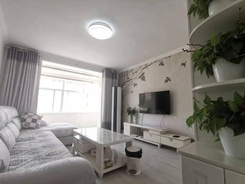 【半朵悠莲】葡萄滩海水浴场周边 两室两厅 伴山休闲居所