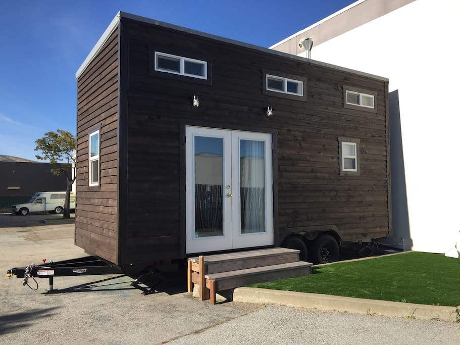 Outside view of the Tiny house/micro-apartment