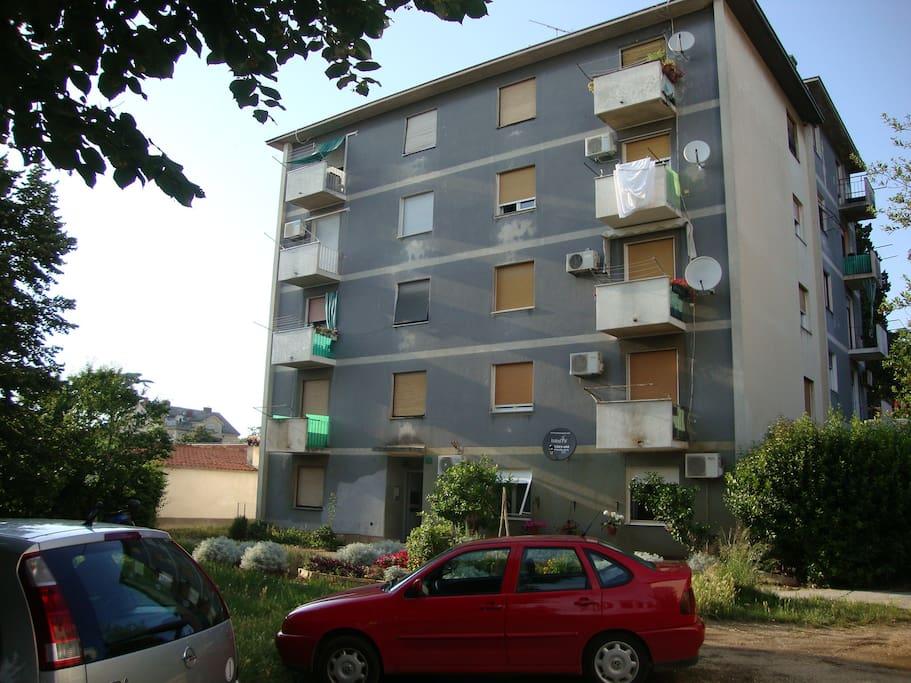 Pula apartment building.