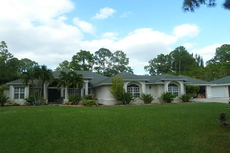 West Palm Beach Home Rental - Loxahatchee