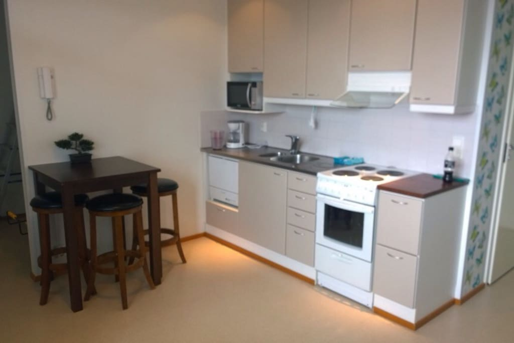 Apartment in the heart of Tampere Hervanta.