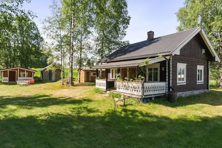 Charming old farmhouse in Gjesåsen - good fishing