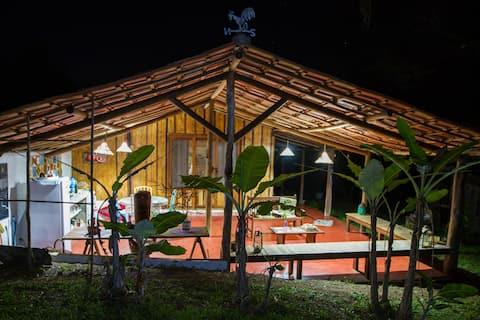 Exclusive shack of brazilian coast