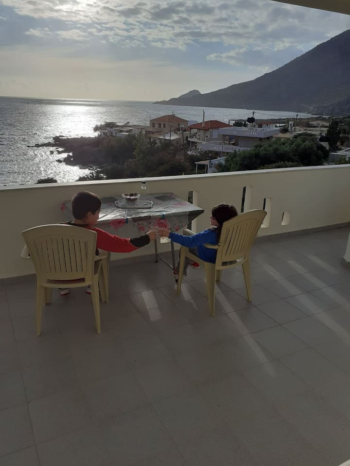 Amazing view house in Agios Ioannis