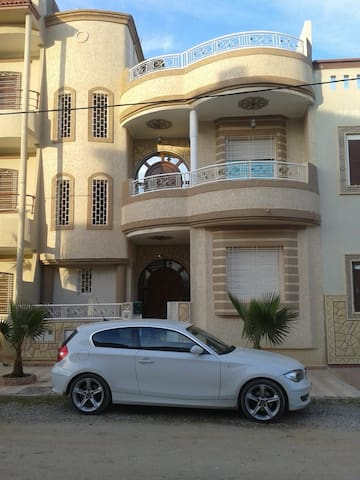 Location appartement dans une villa à Saidia
