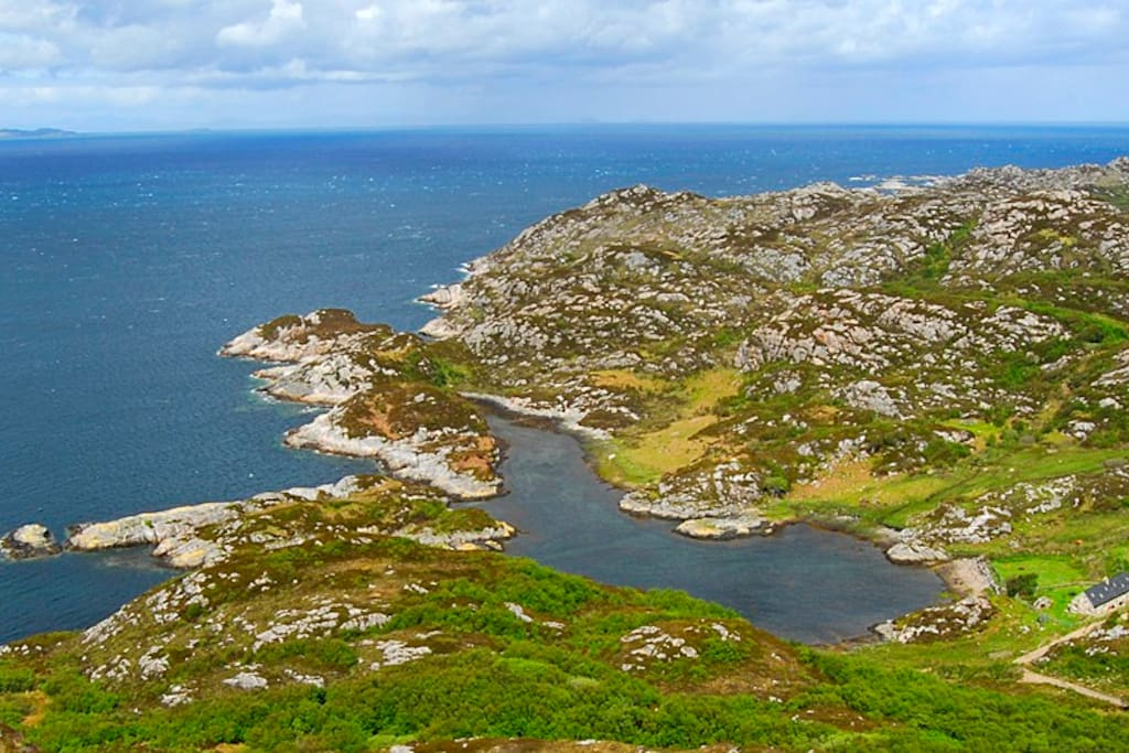 Remote Cottage On The Isle Of Rona Islands For Rent In