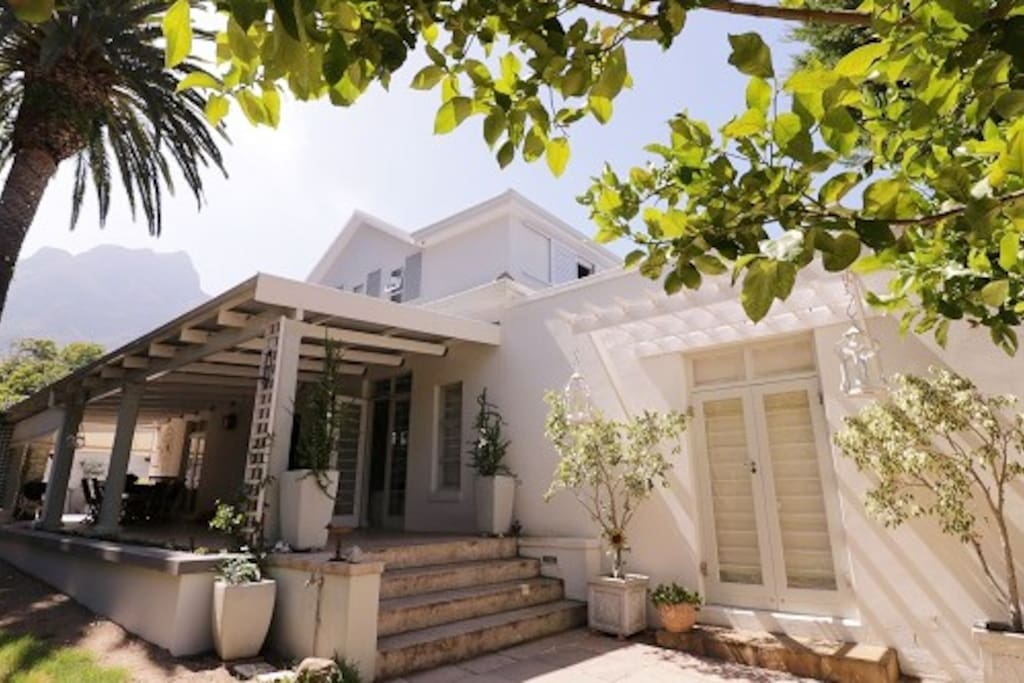 Idyllic family home in leafy Newlands, one of Cape Town's most beautiful areas.