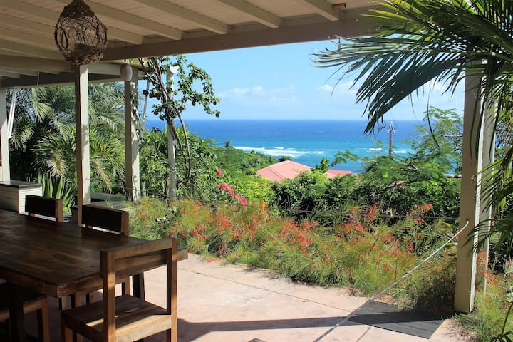 Kaz a bulle, a beautiful villa with sea-view