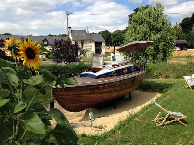 DISKIANT*, le petit bateau dans la prairie ! - Hédé-Bazouges