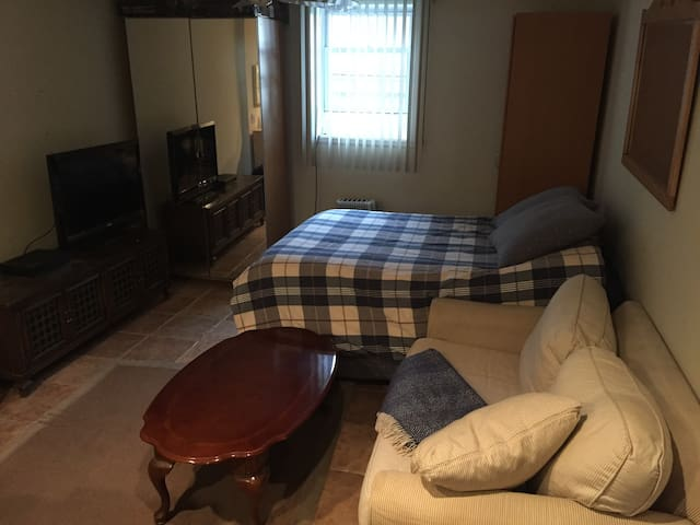 Spacious private room very close to New York City - Cliffside Park
