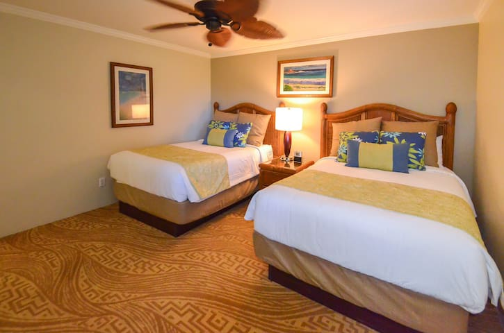 Guest Room * Note: The guest room has either two Doubles OR one Queen bed - Request and we will try to accommodate