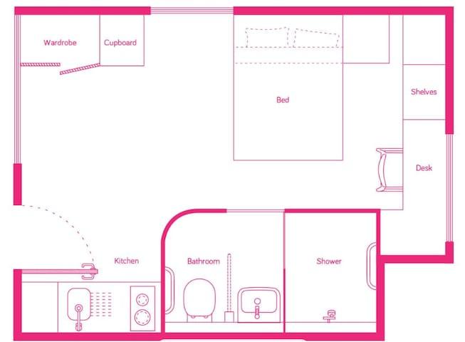 墨尔本真正中心位置高级公寓scape公寓整租啦
