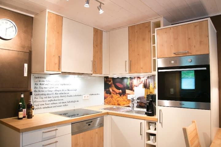 Ferienwohnungen Talblick, (Wolfach), Ferienwohnung Spätzle mit Sauce, 36 qm, 1 Schlafzimmer, max. 2 Personen