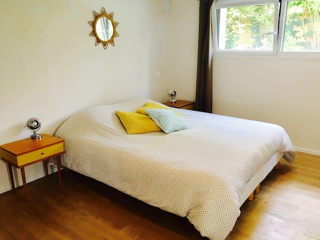 Chambre spacieuse et confortable à 5 min de Rennes - Pacé - Talo