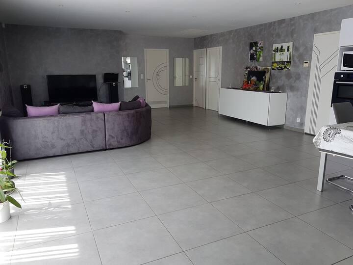 Maison calme située à 15 min d Argelès et d'Espagn
