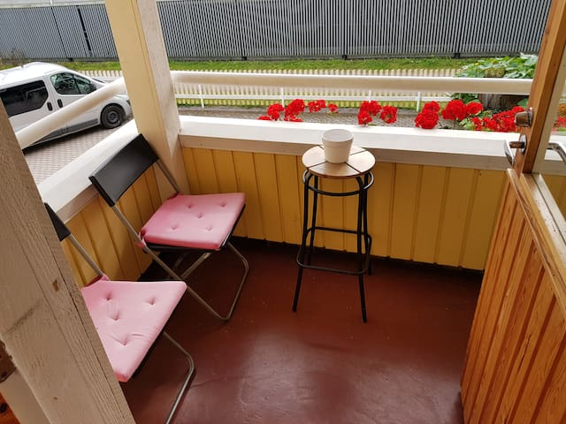 You may smoke or just relax on the balcony!