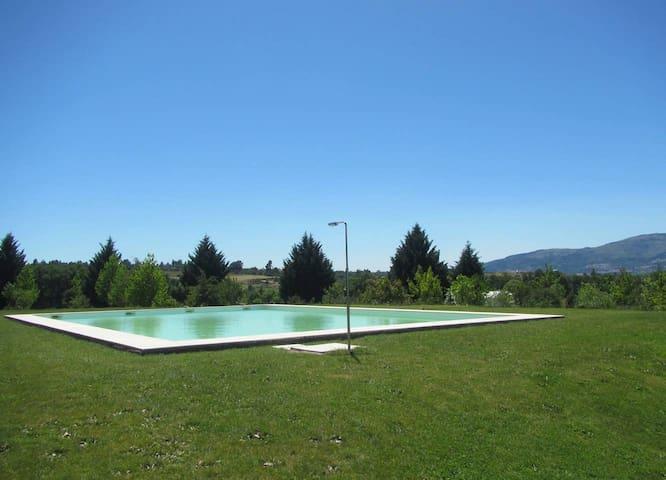 Casa con accesso piscina