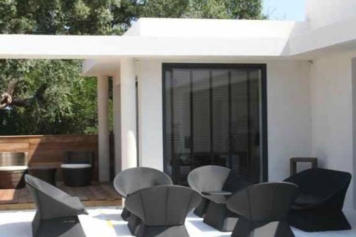 toits terrasse, chambres avec terrasse privative