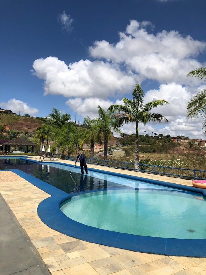 Bananeiras, apartamento com área gourmet