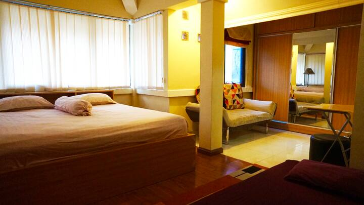 Homy room for family at Bandung
