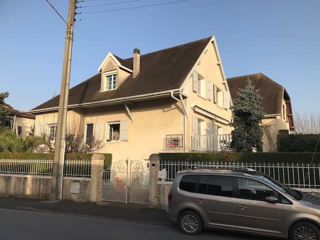 Maison en plein centre ville