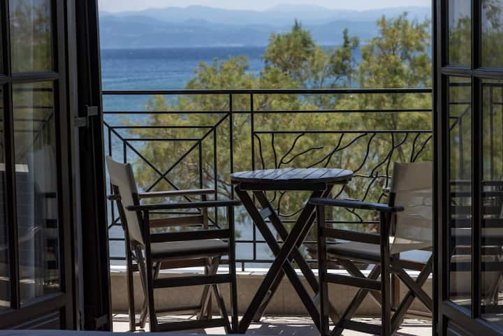 Studio in Platanias Pelion just a step from the sea #3