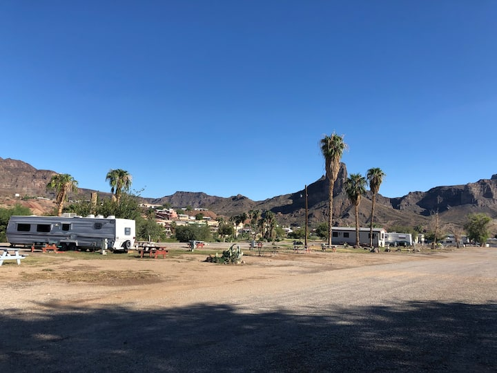 Beautiful views on Parker Strip