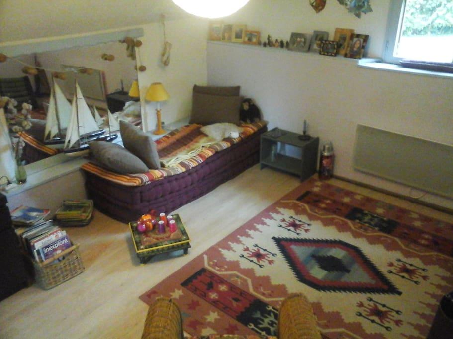 chambre spacieuse de 12m2