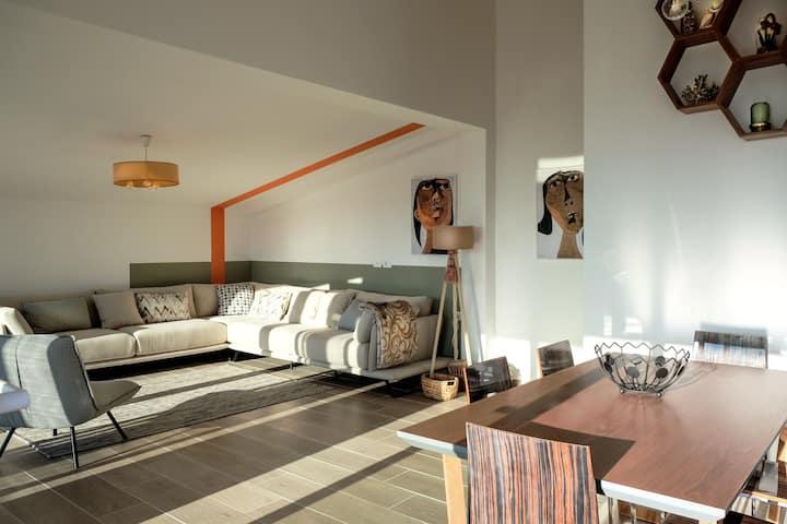 Luxurious attic apartament