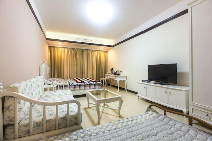 文昌最好一线温泉海景小区带厨房/同时提供租车和路线推荐特价无wifi - Wenchang - Wohnung