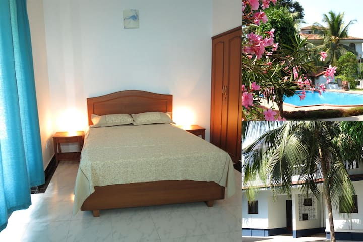 10) Spacious A/C Villa, Arpora Sleeps 4 & Wi-Fi - Arpora - Dom